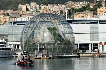 La biosfera di Genova
