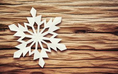 snowflake driftwood