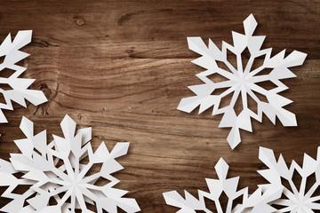 desk snowflakes