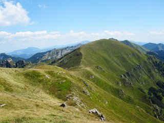The Apennine Mountains in Italy