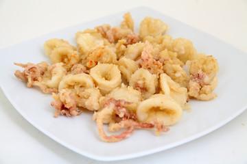 Deep Fried Calamari (Squid) Rings