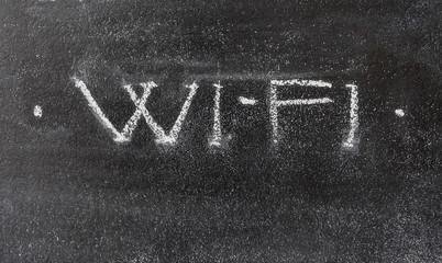 WiFi letters