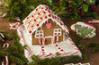 Homemade Candy Gingerbread House - 74497304
