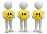 3d Männchen smileys emotionen