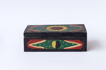 Handmade wooden box front side