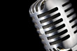 Chrome Microphone - 74499524
