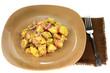 Potatoes Vegan plain gourmet salad