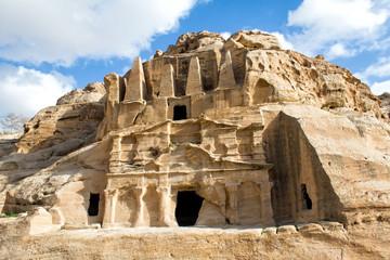 Obelisk Tomb and Bab Al-Siq Triclinium, Petra, Jordan
