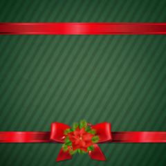Retro Green Christmas Wallpaper