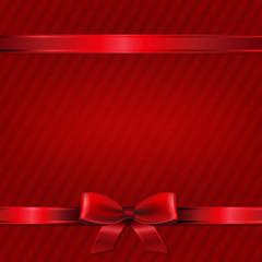 Retro Red Christmas Wallpaper