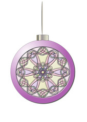 Шарик фиолетовый с фильтрами