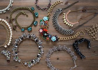 Fashion statement necklaces