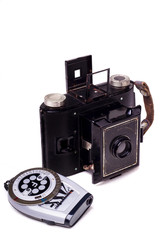 retro vintage photographic camera