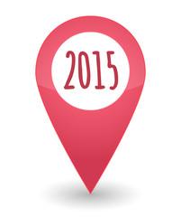 map mark year 2015 design