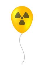 balloon illustration with a radio activity sign