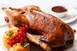 Leinwandbild Motiv Roasted turkey