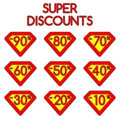 Super discounts