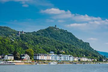 Drachenfels und Königswinter am Rhein