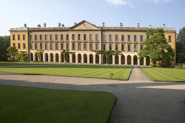 New Building of Oxford Magdalen College