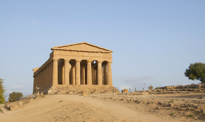 Temple of Concord Agrigento, Sicily (Italy)