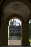The details of New Buildingof Oxford Magdalen College poster