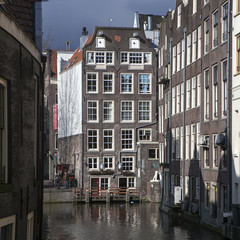 Beautiful view of Amsterdam