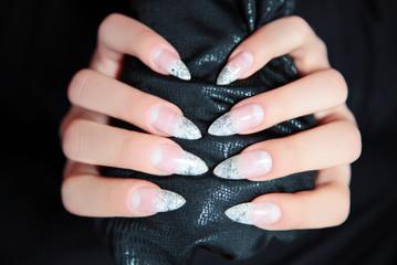 Trendige Fingernägel