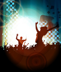 Concert. Vector illustration