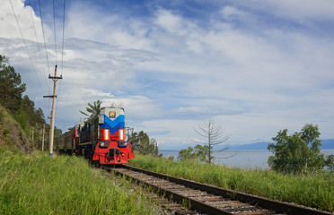 The train on Circum-Baikal
