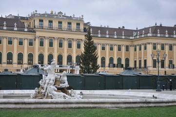 Christmas market in Schönbrunn Palace, Vienna