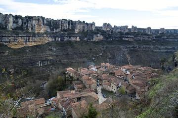 Orbaneja del Castillo, Burgos (Spain)