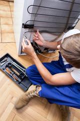 Fixing a refrigerator