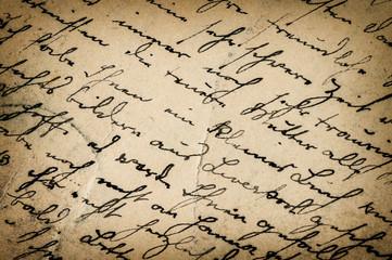 vintage handwriting. antique script. paper background
