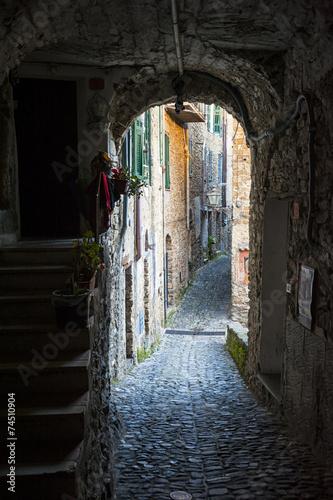 Strada medioevale © Nikokvfrmoto