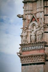 Dettaglio Duomo di Siena