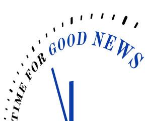 Time for good news