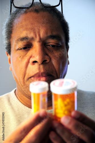 canvas print picture High blood pressure medicine.