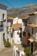 Altea old town street