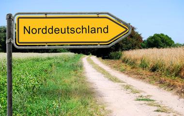 Strassenschild 21 - Norddeutschland