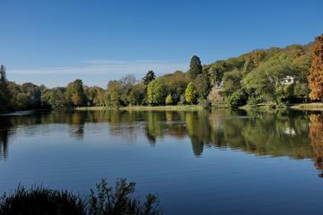 Les étangs de Ville d'Avray.