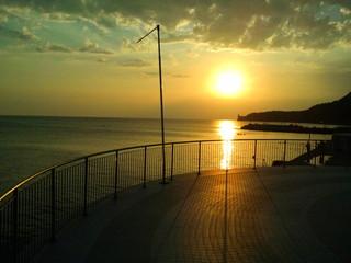 Trieste sunset