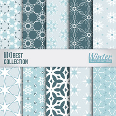 Winter backdrops collection.
