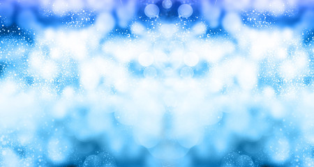 Winter christmas snow abstract background