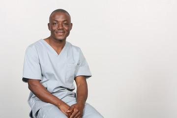 Portrait African American Doctor