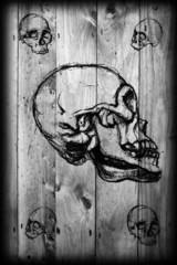 The five of skulls.