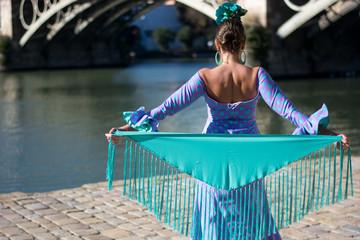 Andalucia dancing girl