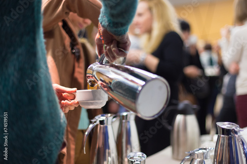 Coffee break at business meeting - 74519551