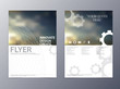 vector modern flyer design template - 74526538