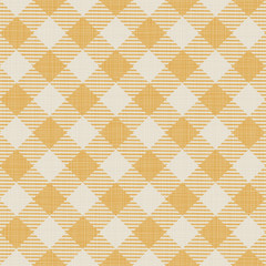 Seamless texture of yellow plaid