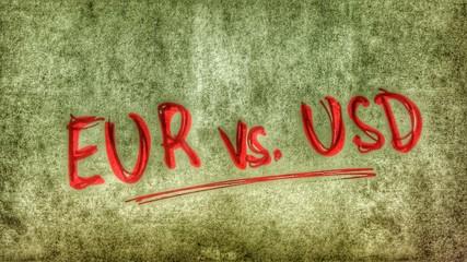 Euro vs. USD